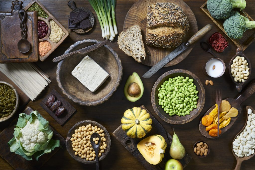 food with Glycemic  index